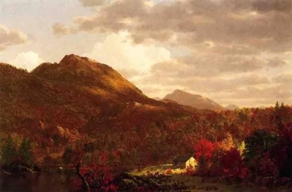 Edwin Autumn on the Hudson